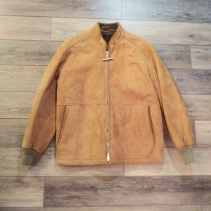 Vintage Abercrombie & Fitch leather suede jacket